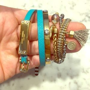Henri Bendel bracelet stack- set of 3